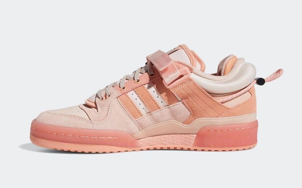 Bad Bunny x adidas Forum Buckle Low en rosa, Zapas News