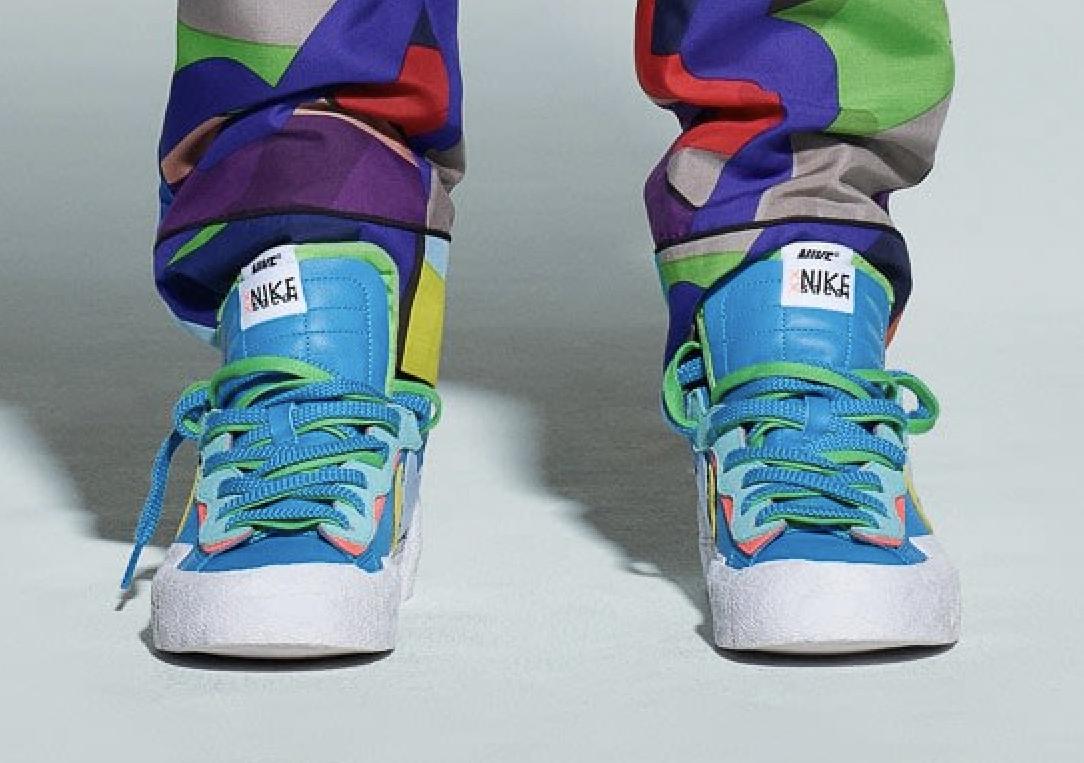 Las Kaws X Sacai X Nike Blazer Low Se Lanzarán En Julio