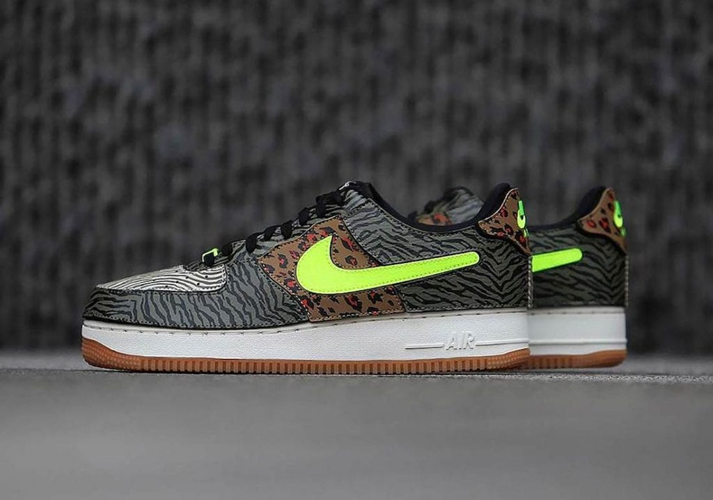 Nike Air Force 1/1 Con Patrones De Animales