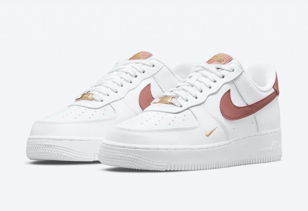 Nike Air Force 1 Low 'Rust Pink' Limpia Y Elegante