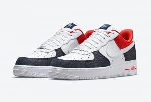Nike Air Force 1 Low Con Toques En Denim