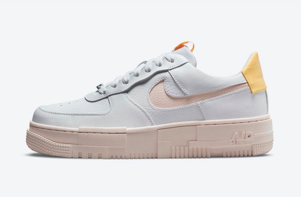 """Nueva Nike Air Force 1 Pixel En """"Arctic Orange"""""""