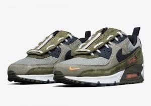 """Nike Air Max 90 'Surplus Supply' Con """"Cubre Lengüetas"""" Extraíble"""