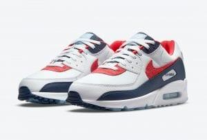 Nike Air Max 90 'USA Denim' En Imágenes Oficiales