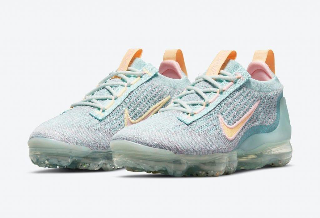 Nike Air VaporMax 2021 Color Aqua Y Mango