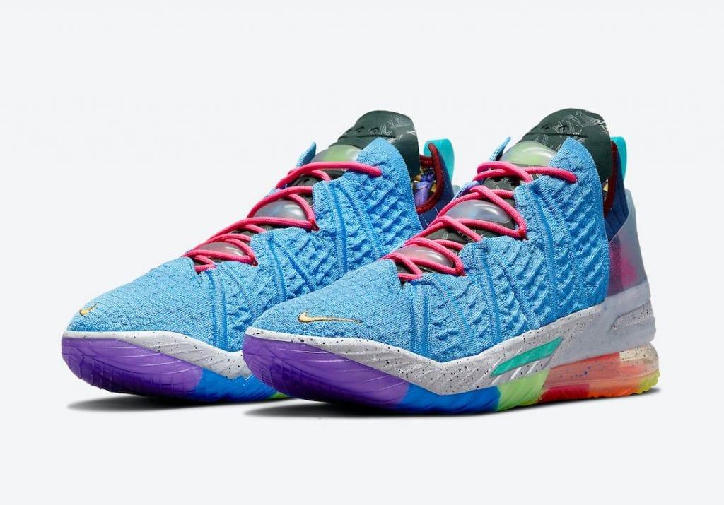 Nike LeBron 18 'What The' A La Vista