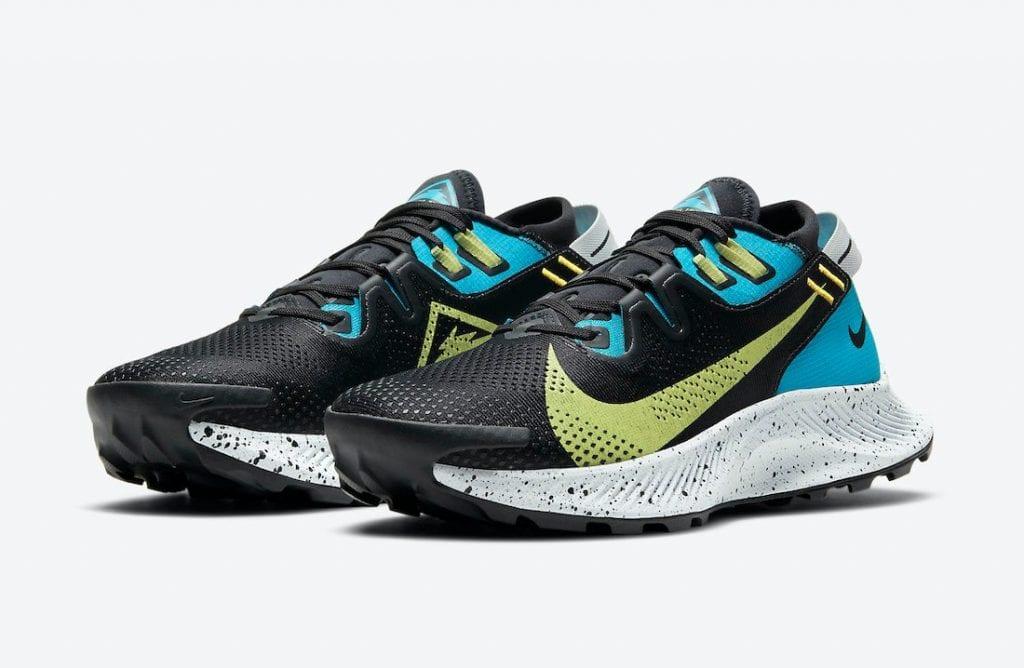 Nike Pegasus Trail 2 En Laser Blue Y Lima
