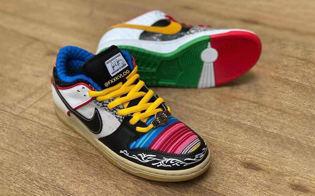 Nike SB Dunk Low 'What The P-Rod' En Imágenes