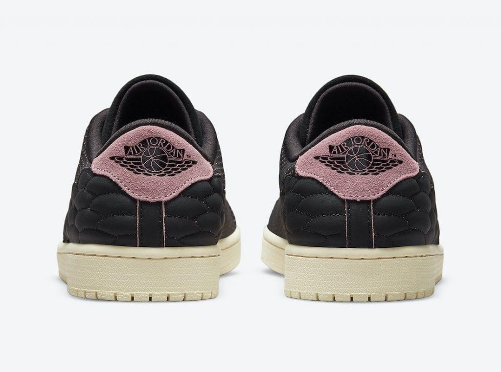 Air Jordan 1 Centre Court en negro con toques rosas, Zapas News