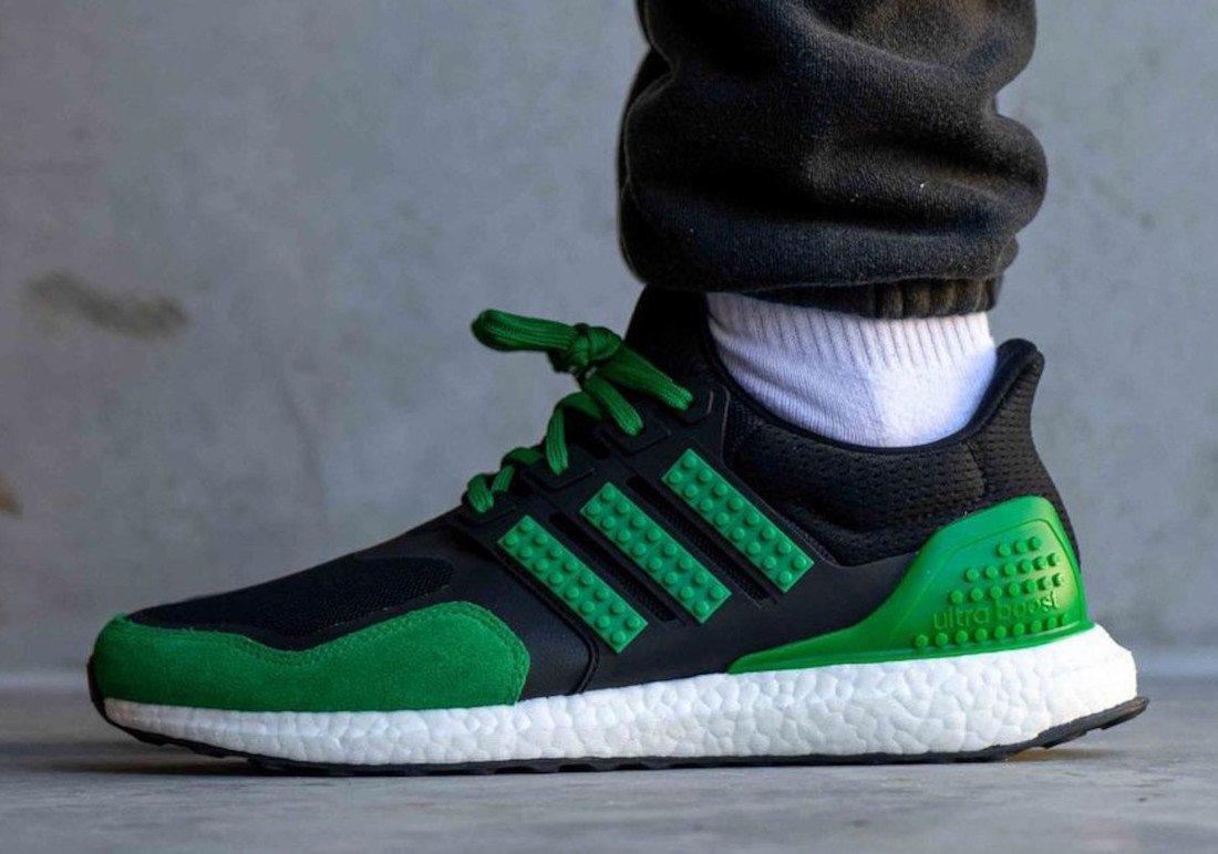 LEGO X Adidas Ultra Boost En Negro Y Verde