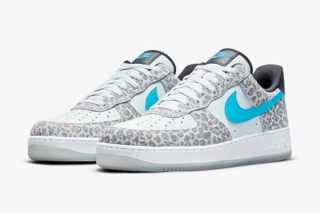 Nike Air Force 1 Low Con Patrones De Leopardo