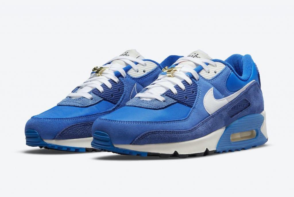 Nike Air Max 90 'Signal Blue' En Honor Al Swoosh De Nike
