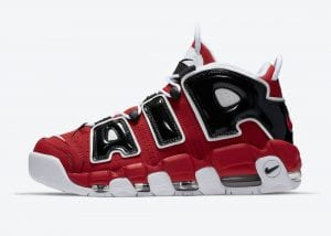 Nike Air More Uptempo 'Bulls' Para El 16 De Abril De 2021