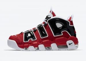 Nike Air More Uptempo 'Bulls' Para El 16 De Abril De 2021