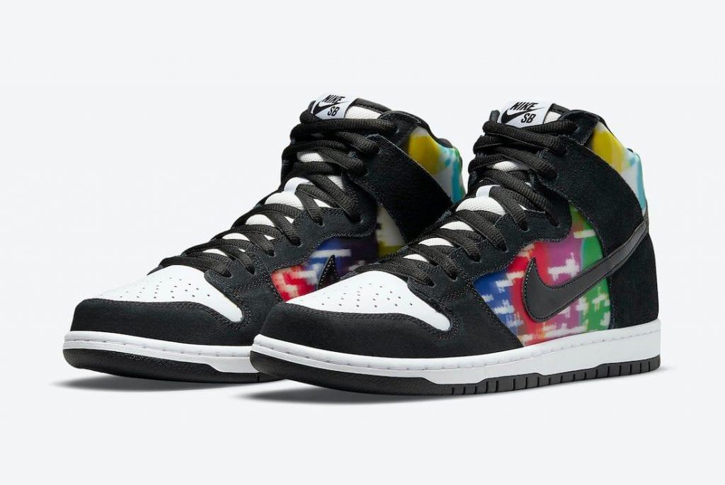 Nike SB Dunk High 'TV Signal' En Imágenes Oficiales