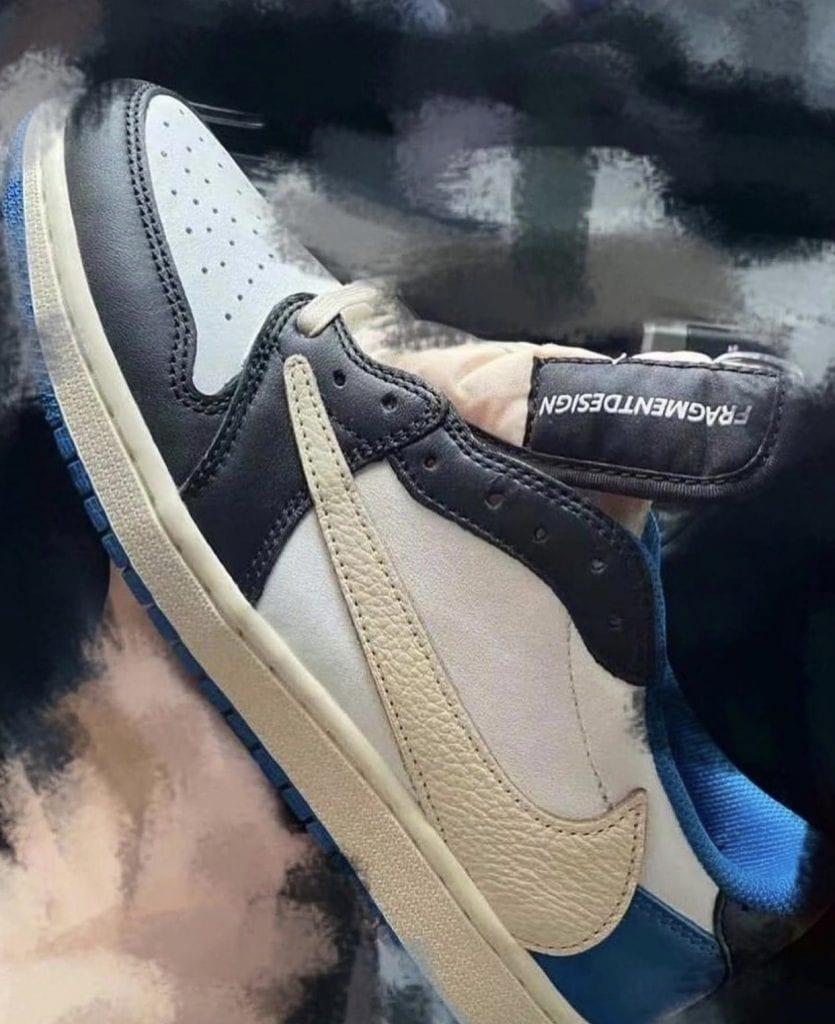 Primeras imáges de las Travis Scott x Fragment x Air Jordan 1 Low OG, Zapas News