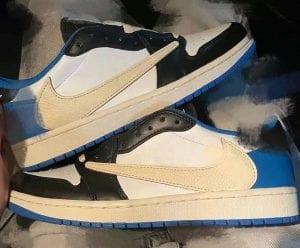 Travis Scott X Fragment X Air Jordan 1 Low OG
