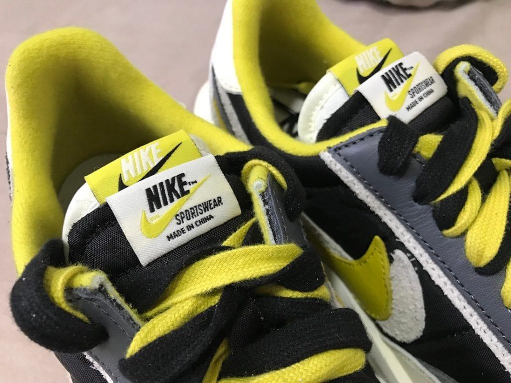 Primer vistazo a las Undercover x Sacai x Nike LDWaffle 'Bright Citron', Zapas News