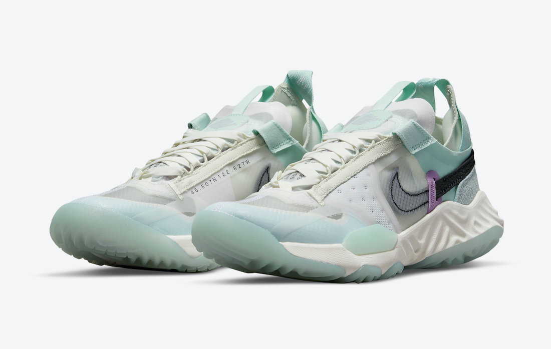 Jordan Delta Breathe En Color ' Sea Glass' Para Mujeres