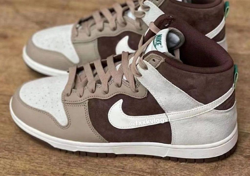 Nike Dunk High 'Light Chocolate'