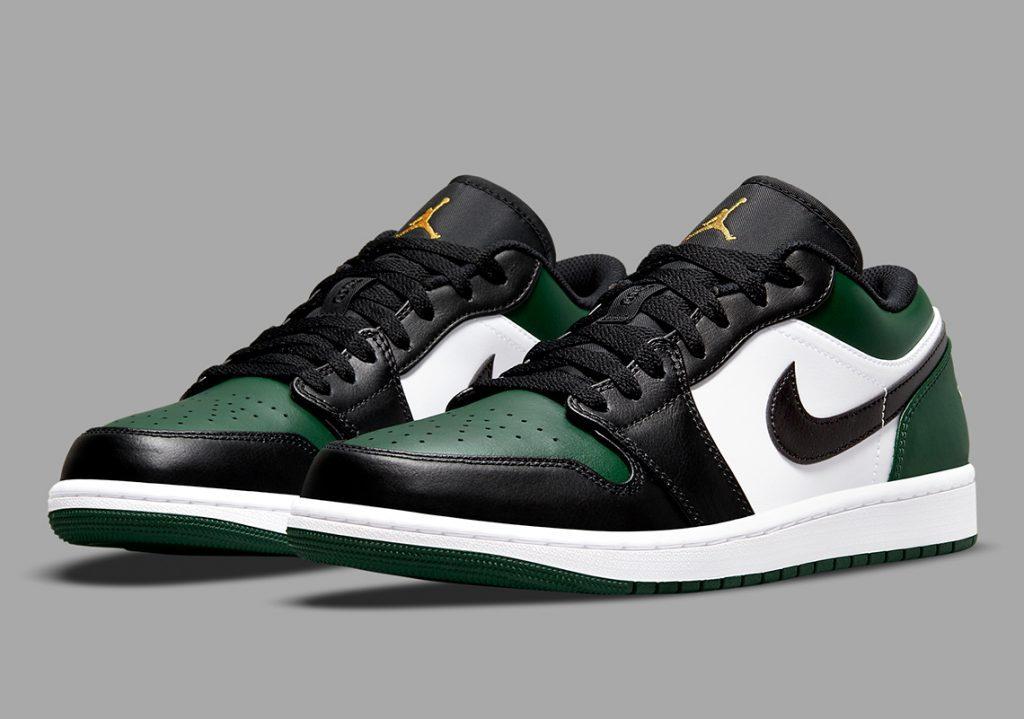 """Imágenes Oficiales De Las Air Jordan 1 Low """"Green Toe"""""""