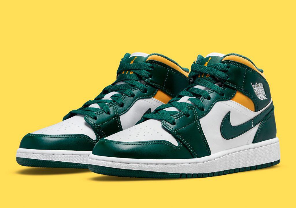 Sale A La Luz Una Air Jordan 1 Mid Con Colores De Brasil