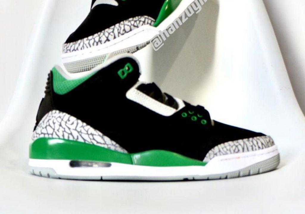 """Primeras Imágenes De Las Air Jordan 3 """"Pine Green"""""""