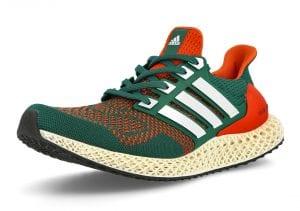 """Adidas Ultra 4D """"Miami"""" Con Los Colores De Los UMiami"""