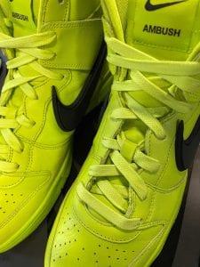 Ambush X Nike Dunk High 'Atomic Green'