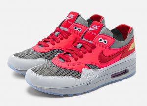 CLOT x Nike Air Max 1 K.O.D. Solar Red
