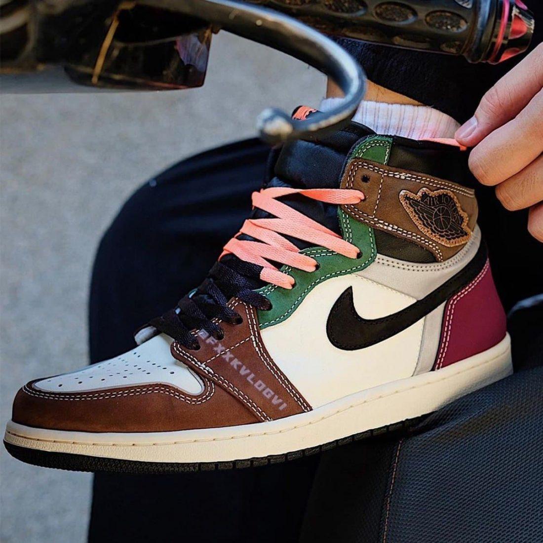 """Air Jordan 1 High OG """"Hand Crafted"""