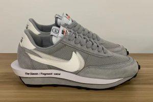 """fragment x sacai x Nike LDWaffle """"Wolf Grey"""""""