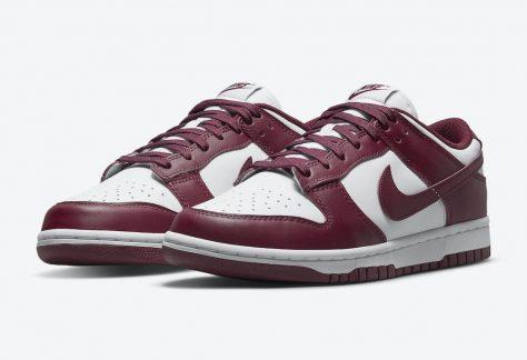 """Nike Dunk Low WMNS """"Bordeaux"""""""