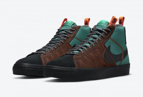 "Nike SB Blazer Mid Premium Acclimate ""Noble Green"""