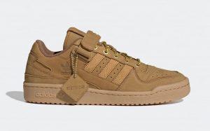 "Atmos X Adidas Forum Low ""Wheat"""