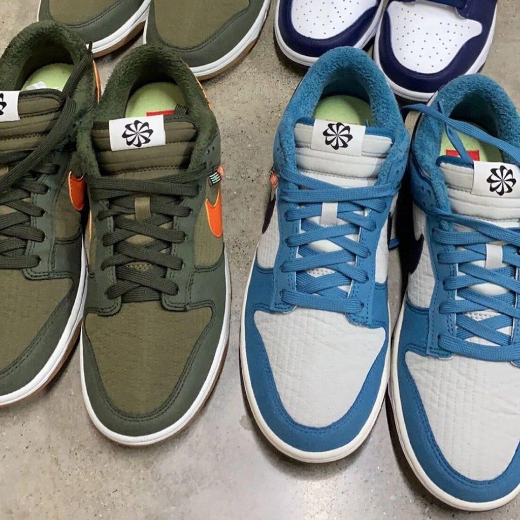 """Una Nike Dunk Low Toasty """"Olive"""" reciclada, Zapas News"""