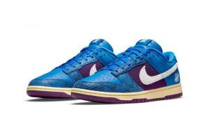 """Undefeated X Nike Dunk Low """"Royal Purple"""""""