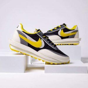 sacai x Undercover x Nike LDWaffle Bright Yellow