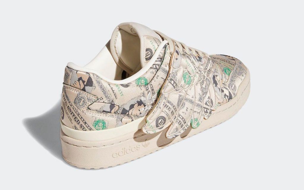 Las Jeremy Scott x adidas Forum Low Wings «Money» para Otoño, Zapas News
