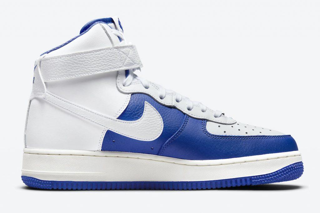Imágenes Oficiales de las NBA x Nike Air Force 1 High «75th Anniversary» Hyper Royal, Zapas News