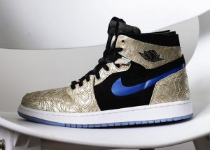 Air Jordan 1 Zoom CMFT 'Gold Laser'