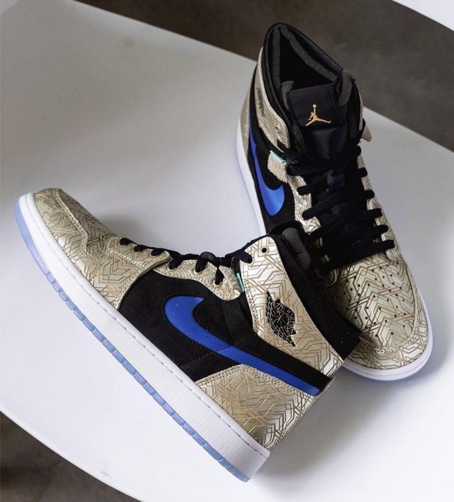 La Air Jordan 1 Zoom CMFT se lanzará en color Gold Laser, Zapas News