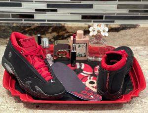 Air Jordan 14 Low Red Lipstick