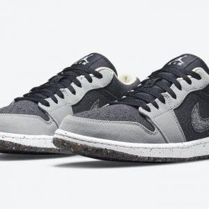 """Air Jordan 1 Low Crater """"Black Grey"""""""