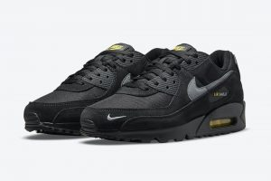 "Nike Air Max 90 ""Black Yellow"""