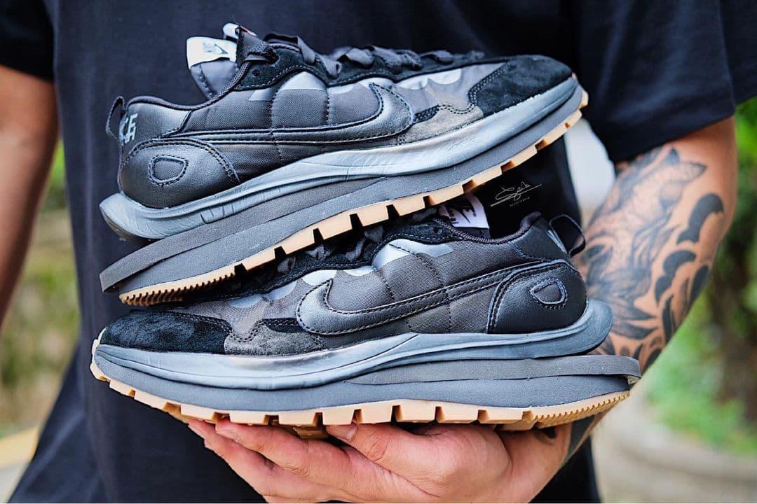 Sacai X Nike VaporWaffle Black Gum