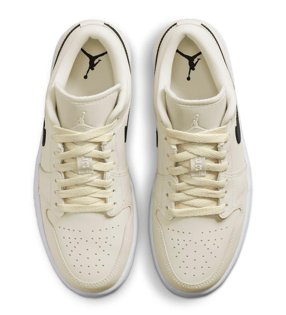 Las Air Jordan 1 Low «Coconut Milk» a la vista, Zapas News
