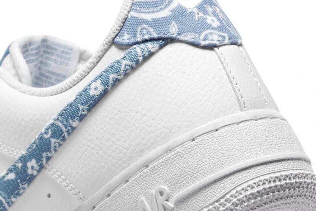 Te mostramos las Nike Air Force 1 '07 » Worn Blue » Paisley, Zapas News