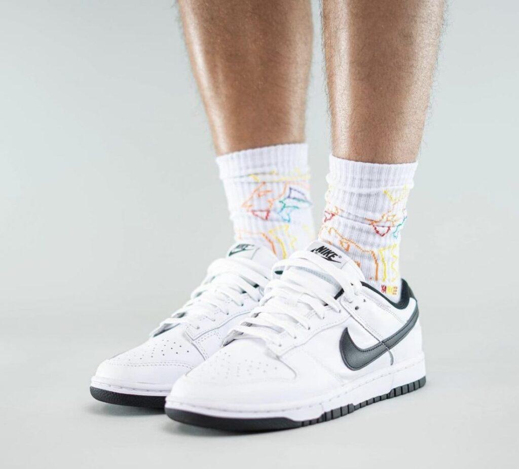 Las Nike Dunk Low «White Black» a la vista, Zapas News