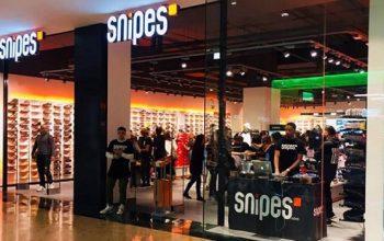 tienda de sneakers snipes